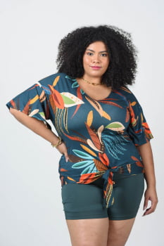BLUSA VISCOLYCRA PLUS SIZE